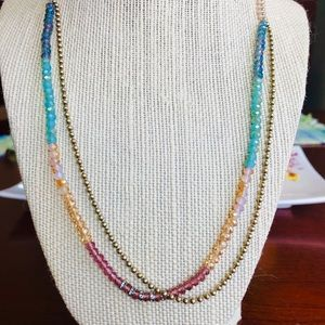 Chloe & Isabel long beaded necklace